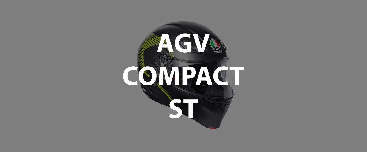 casco agv compact st