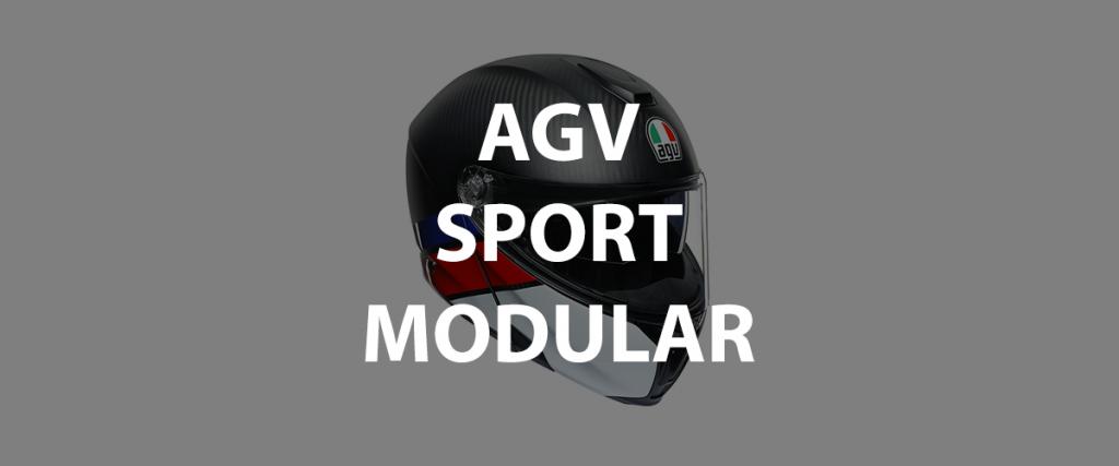 casco modulare agv sportmodular header