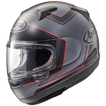casco qv pro triple black nero rosso grigio