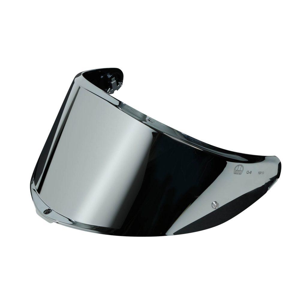 visiera agv k6 iridium silver argentata
