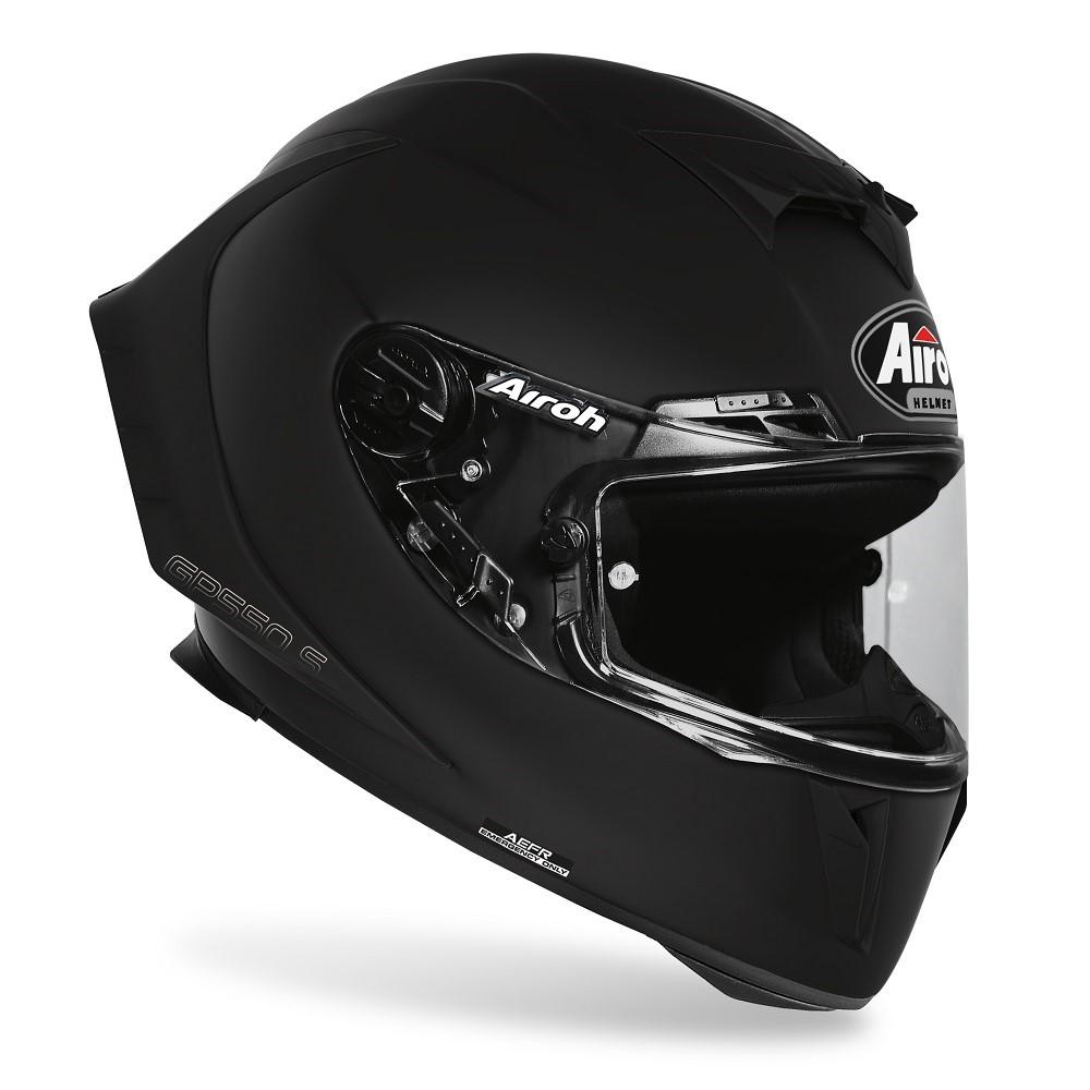 casco airoh gp550 s nero lucido