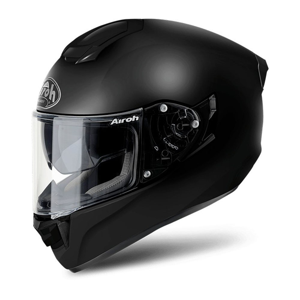 casco airoh st 501 black matt nero