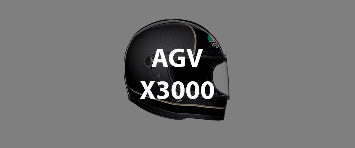casco agv x3000