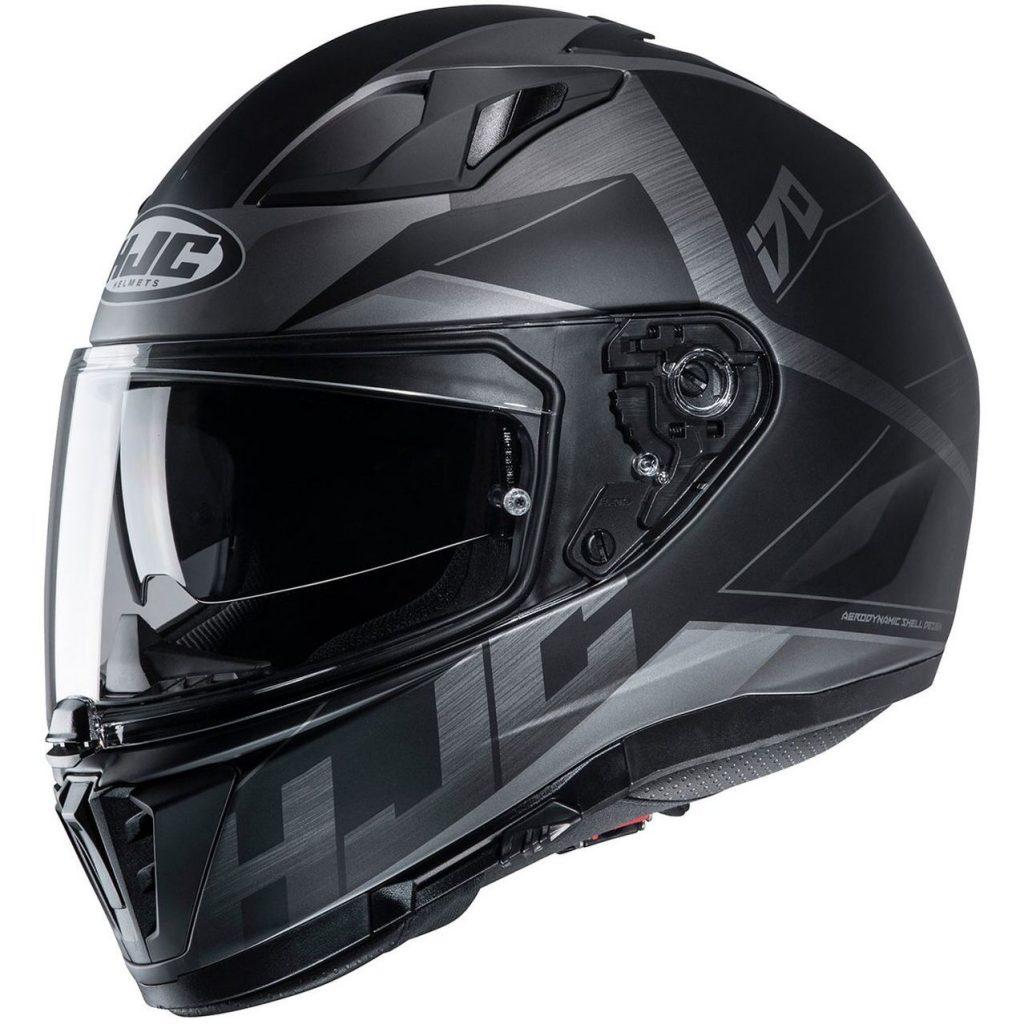 casco integrale hjc i70 eluma matt nero grigio