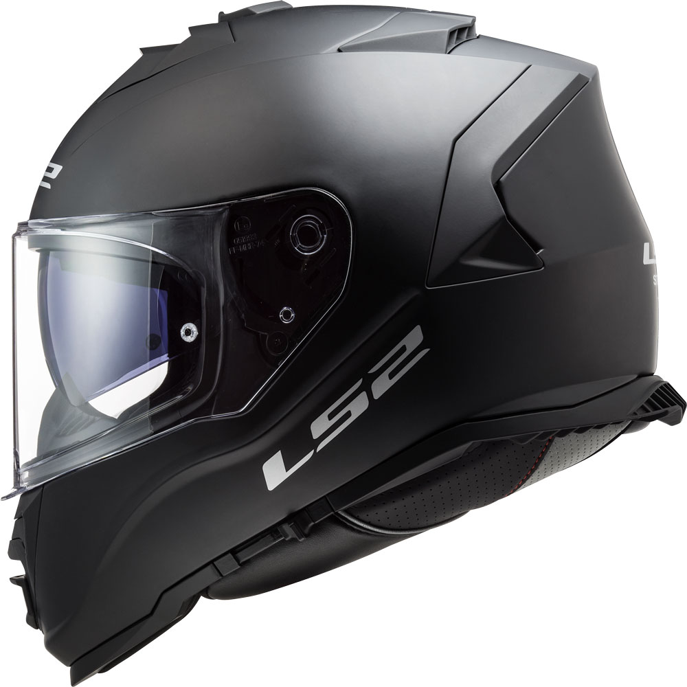 casco integrale ls2 ff800 storm solid nero opaco