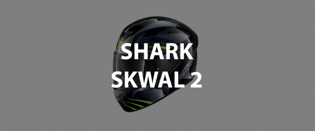 casco integrale shark skwal 2 header