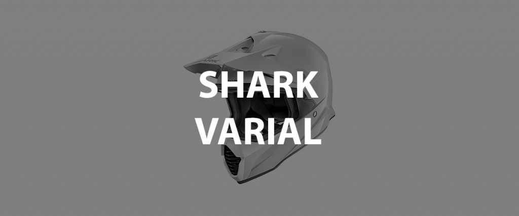 casco integrale shark varial header