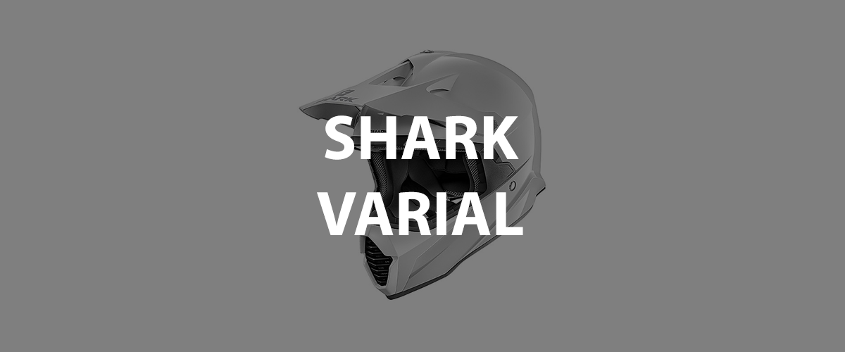 casco shark varial