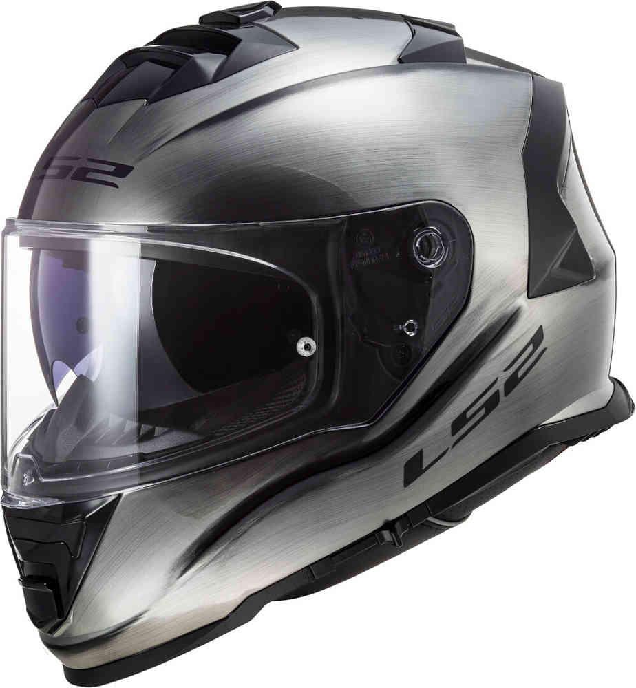 casco ls2 ff800 storm heans grigio metallizzato