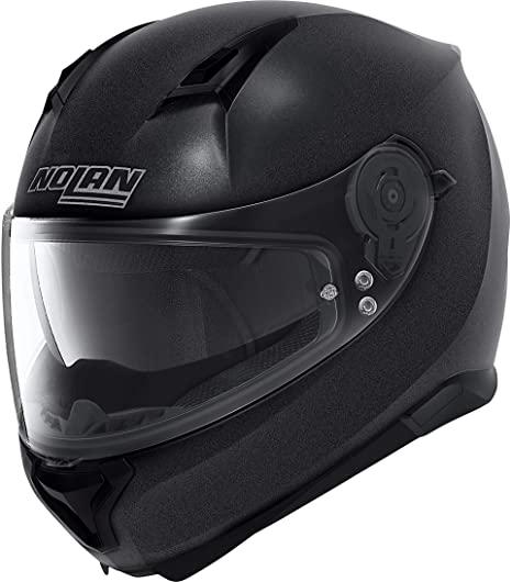 casco nolan n87 special plus n-com nero graphite