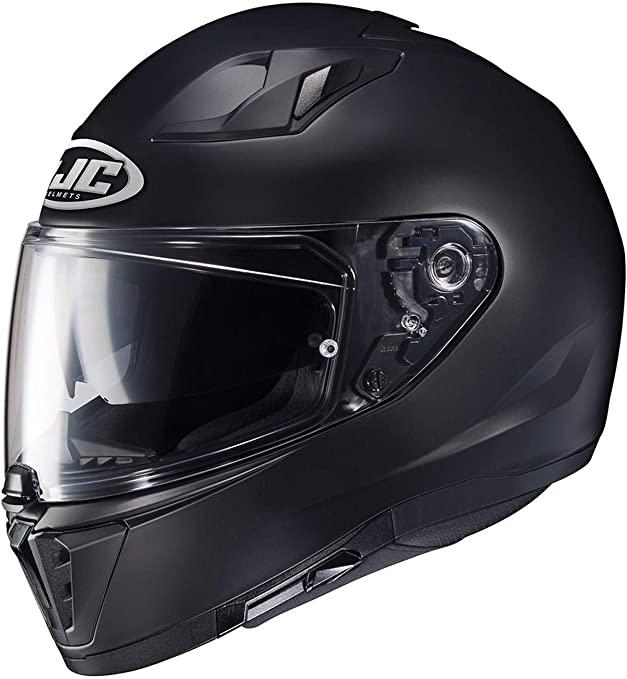 casco per moto hjc i70 logo matt nero opaco