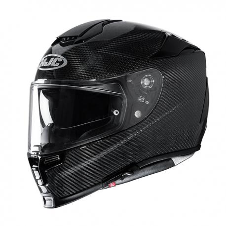 casco per moto integrale hjc rpha 70 nero carbon