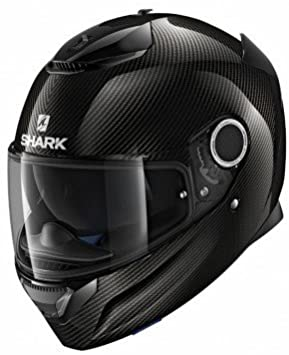 casco shark spartan carbon skin dka nero lucido