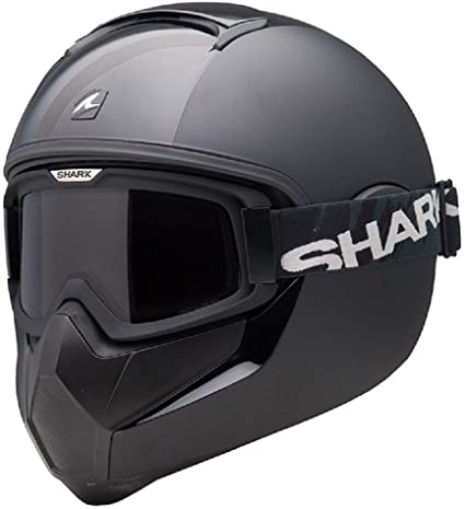 casco shark vancore integrale nero opaco