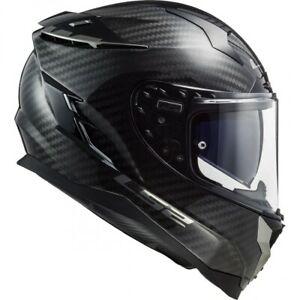 ls2 ff327 challenger casco per moto carbon evo integrale in fibra nero
