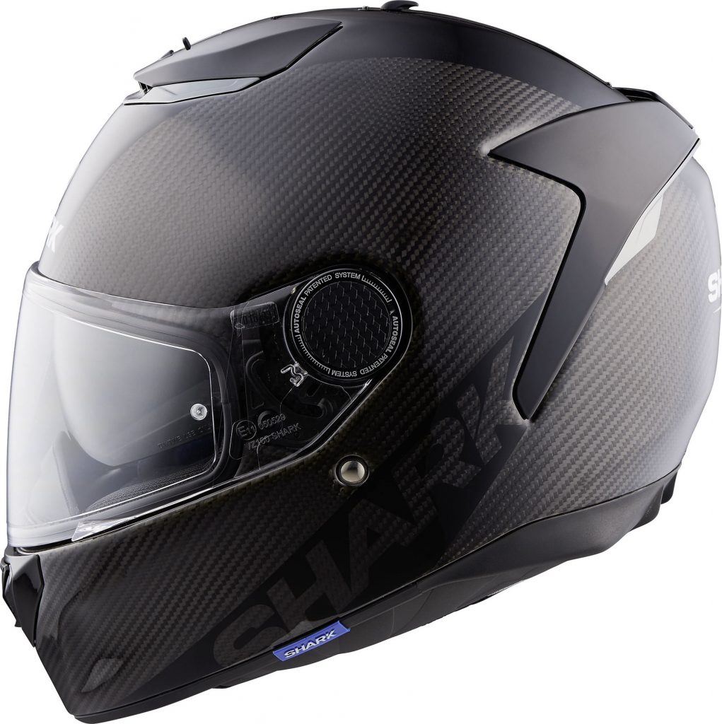 shark spartan carbon skin casco integrale nero opaco