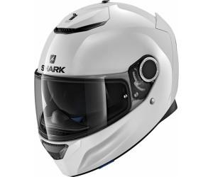 shark spartan casco integrale per moto bianco
