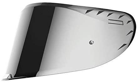 visiera per casco ls2 ff327 challenger iridium argento specchio