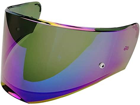visiera per casco ls2 ff390 pinlock arcobaleno a specchio fume