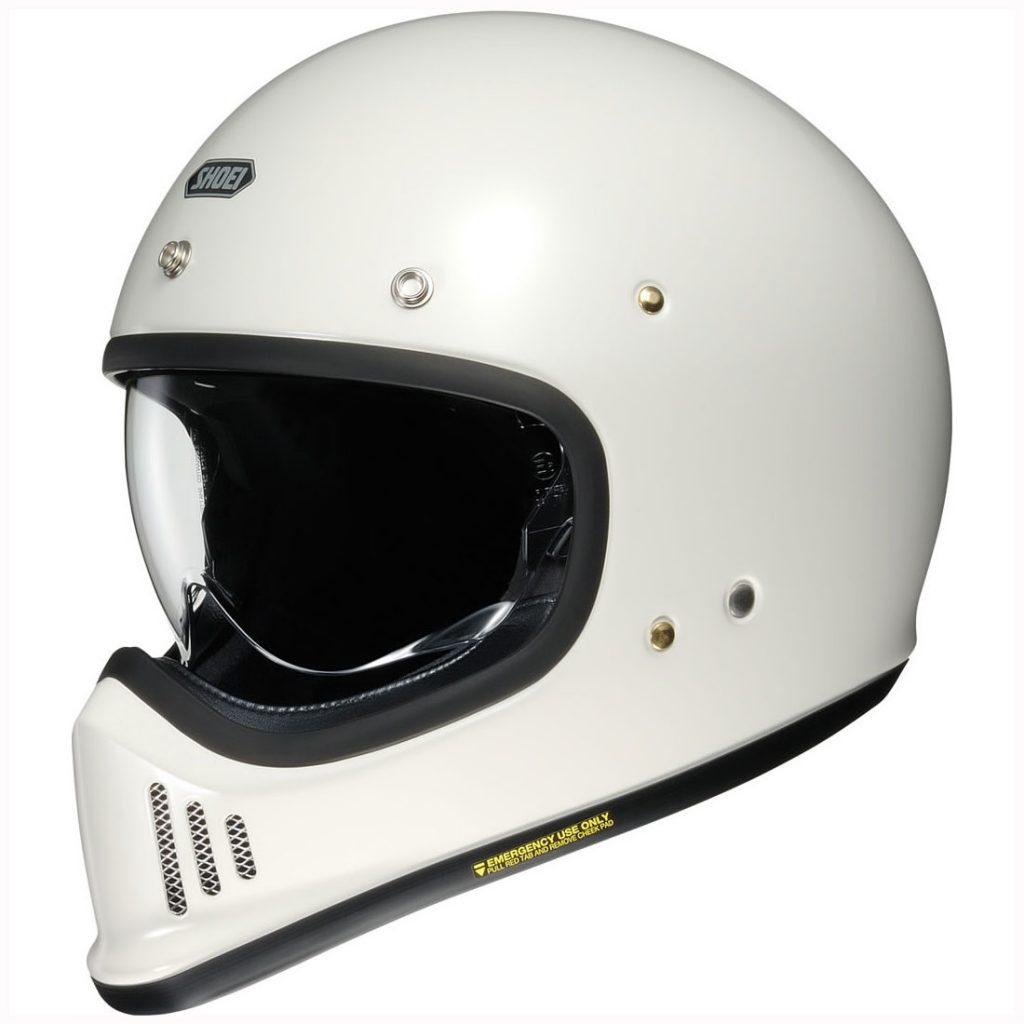 casco integrale shoei ex-zero bianco
