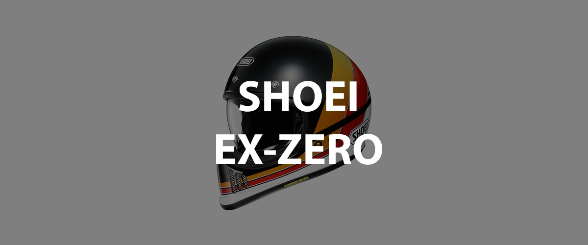 casco shoei ex zero
