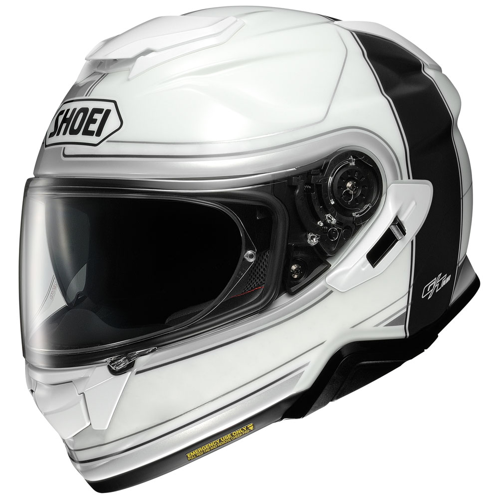casco integrale shoei gt air 2 crossbar bianco