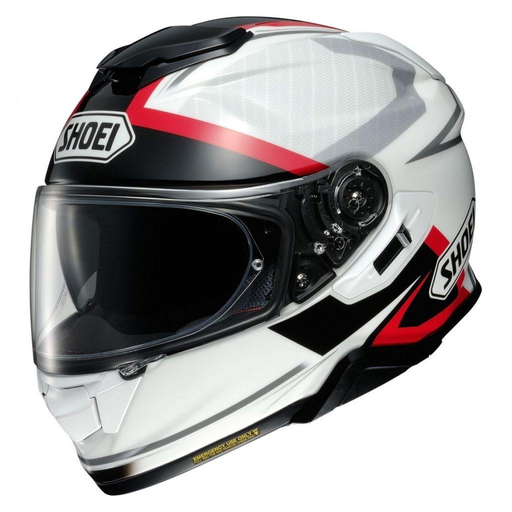 casco shoei gt-air 2 affair bianco nero rosso