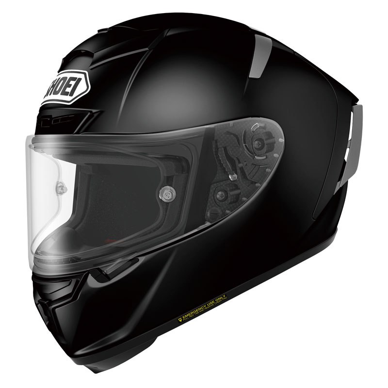 casco shoei x-spirit 3 nero opaco