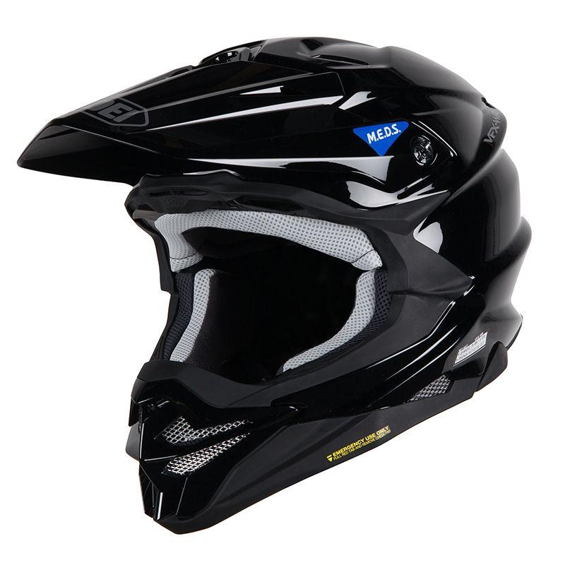 casco da cross shoei vfx-wr nero