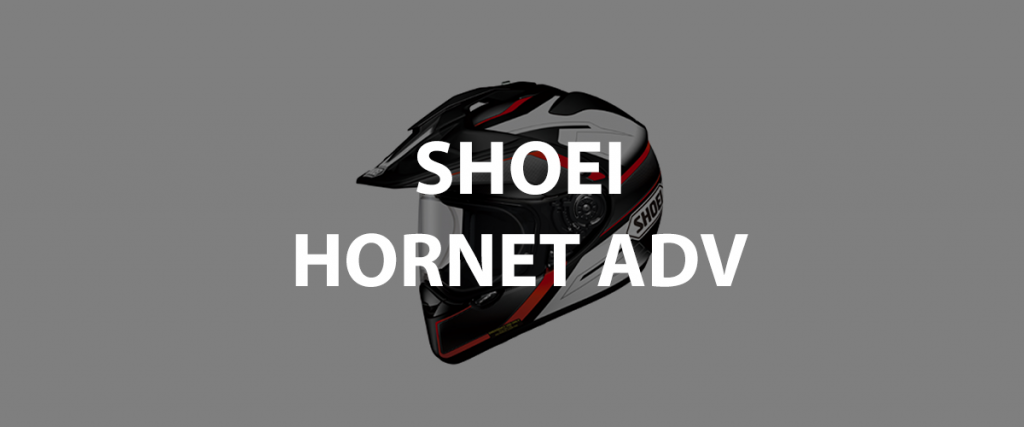 casco integrale shoei hornet adv header
