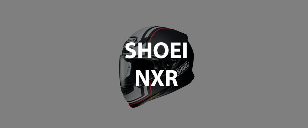 casco integrale shoei nxr header