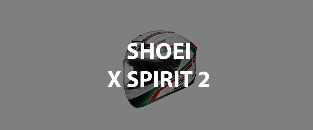 casco integrale shoei x spirit 2 header