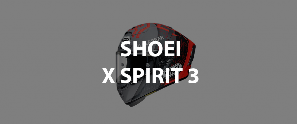 casco integrale shoei x spirit 3 header