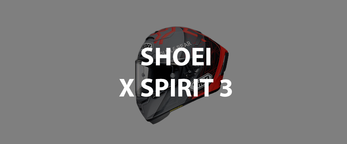 casco shoei x spirit 3