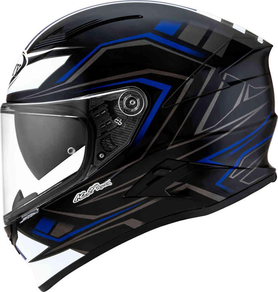 casco suomy speedstar glow nero blu