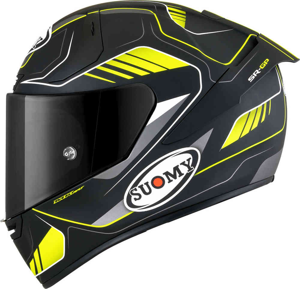 suomy sr-gp casco integrale giallo e nero